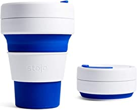 Bobble Stojo Pocket Cup, Blue, 355 ml, Pack of 1