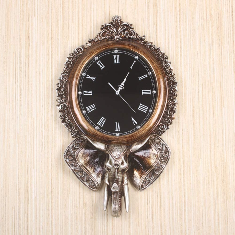 Luxury goods Eummit Wall Clocks European Retro Creative Decorative Brand new Clock