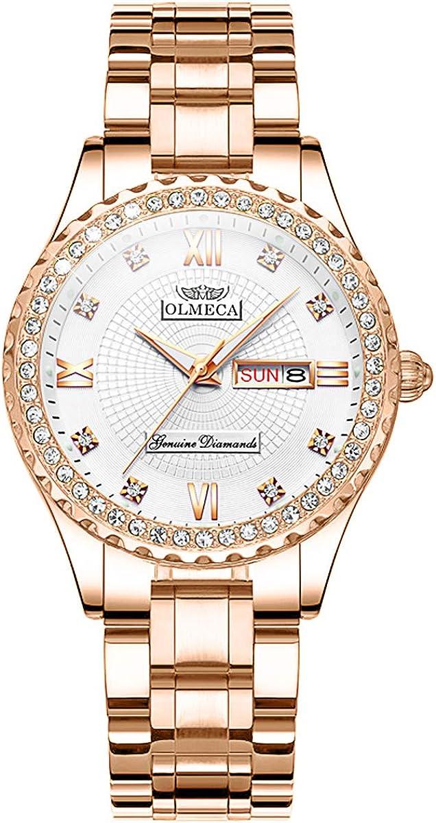 OLMECA Women's Watch Fashion Simple Watches Wristw Analog At the Arlington Mall price of surprise Quartz