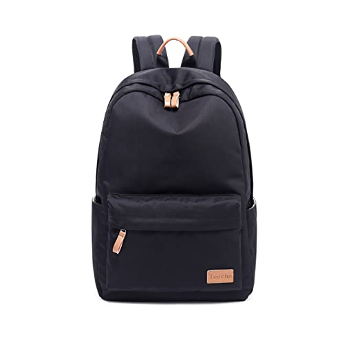 Teecho Waterproof Classical School Backpack for Teenagers Casual Daypack for Women