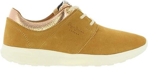 Pepe Jeans Chaussures pour Femme PLS30602 Amanda 847 Sand