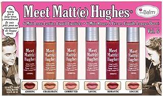 the balm meet matte hughes vol. 6(6mini long-lasting liquid lipsticks)