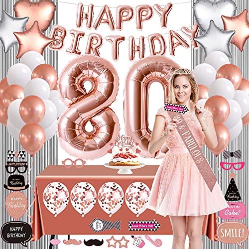 banda 80 cumpleaños de la marca
