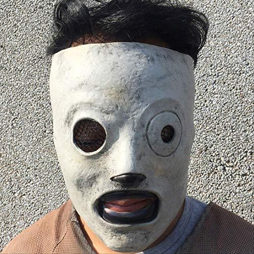 tytlmaske Cosplay Sänger Maske,Horror Slipknot Latex Masken,Für Kostüm Prop Masque Party Halloween Zubehör,29 * 31 cm