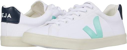 White/Turquoise/Nautico