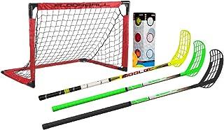 3-Stick Home Floorball Set (Wooloc)