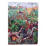 Caroline's Treasures 7144CHF Bird - Toucan Flag Canvas House Size, Large, Multicolor