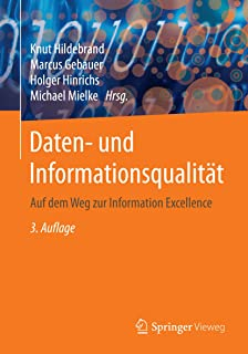 Daten- und Informationsqualität: Auf dem Weg zur Information Excellence (German Edition)