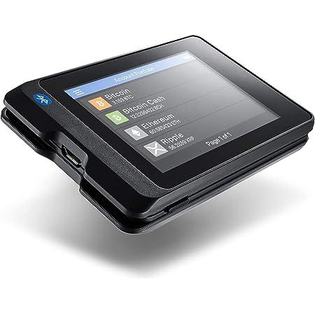 SecuX W20 仮想通貨ハードウェアウォレット - Bluetooth対応 - タッチパネル - ビットコイン、イーサリアムなどを簡単に管理