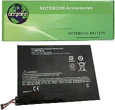 Amsahr MH46117-05 - Batteria di ricambio per HP MH46117, Pavilion X2 10-K020NR Series, Pavilion X2 10-K010NR Series, Pavilion 10-K00 Series con mini mouse ottico, colore: Nero