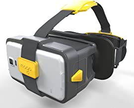 MOGO -Patented New Generation of Virtual Reality Headset for iPhone and Android (Yellow)