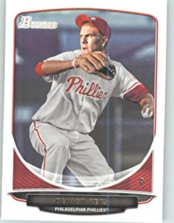 2013 Bowman Draft Draft Picks #BDPP77 Denton Keys Phillies MLB Baseball Card NM-MT