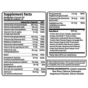Tune Your Keto - Ketogenic Multivitamin + Electrolytes with MCT, Collagen, Magnesium, Potassium, MCTSmart™ #5