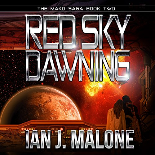 Red Sky Dawning  audiobook cover art