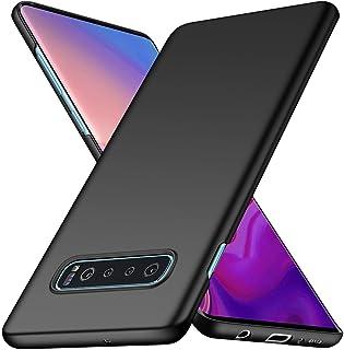 Mofi Samsung Galaxy S10 (Plus) Case Thin Hard PC, Black
