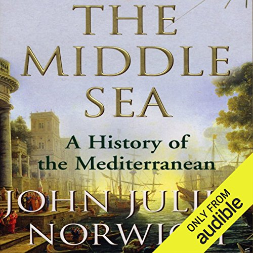 The Middle Sea audiobook cover art