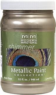 Modern Masters ME708-32 Metallic Paint, Nickel