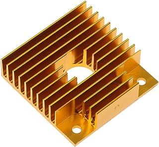 MK7/MK8 3D Printer Aluminum Heatsink Radiator Gold Cooling