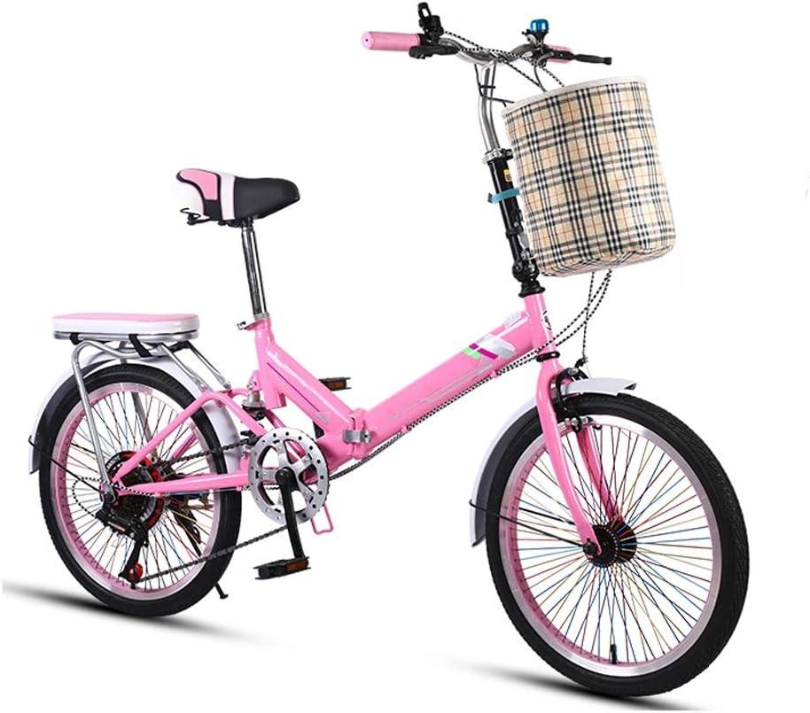 WWFAN Folding Bike Lightweight Cruiser 7 Inch Wheels 20 Bikes Easy-to-use Detroit Mall