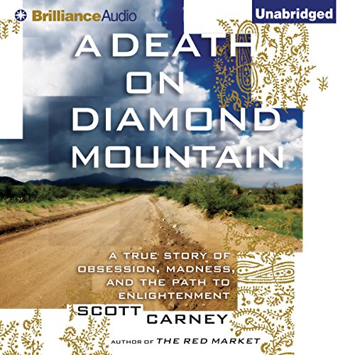 A Death on Diamond Mountain audiobook cover art