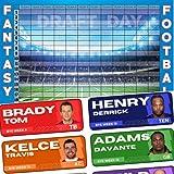 Fantasy Football Draft Board 2021 Kit - Color Rush Labels & Draft Board