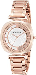 Giordano Analogue White Dial Women's Watch - C2163-22