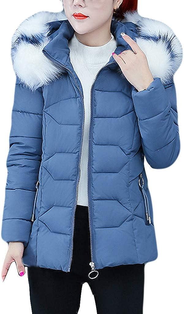 FORUU 2020 trust New Women's Max 76% OFF Winter Coats Co Hooded Warm Outwear Women