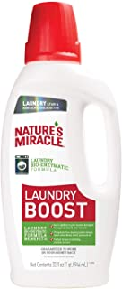 Nature's Miracle Laundry Boost 32 Ounces, Laundry Stain and Odor Removing Additive