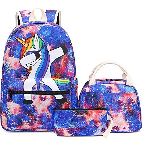 BLUBOON Backpack for School Girls Teens Bookbag Set Kids School Bag 15...