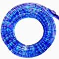PERSIK 18 Feet Clear Rope Light for Indoor and Outdoor use