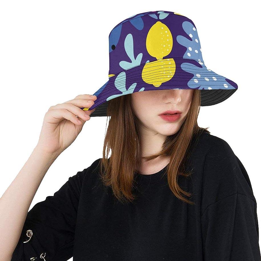 八百屋軽敬なHASHA Uvカット帽子 面白いレモンや花 バケットハット サンバイザー 日よけ 日焼け止め レディース 女子 綿 つば広 おしゃれ 折りたたみ 春夏 ストローハット アウトドア 旅行 トラベル 紫外線対策 遮光 吸汗速乾 小顔効果抜群