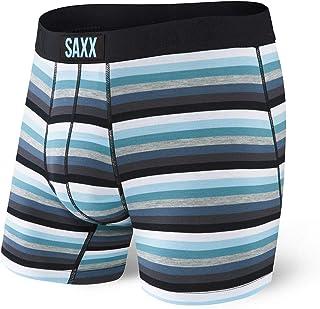 Saxx Underwear Men's Boxer Briefs – Vibe Men's Underwear – Boxer Briefs with Built-in Ballpark Pouch Support – Underwear f...
