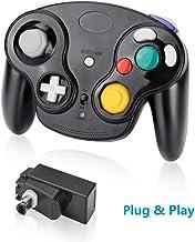Laelr Manette sans fil pour Nintendo Switch Gamecube Manette de Jeu Vibration à Double Moteurs Mini Contrôleur NGC Pro à D...