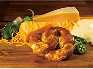 Kim and Scotts Grilled Jalapeno Stuffed Pretzels, 6 Ounce -- 24 per case.