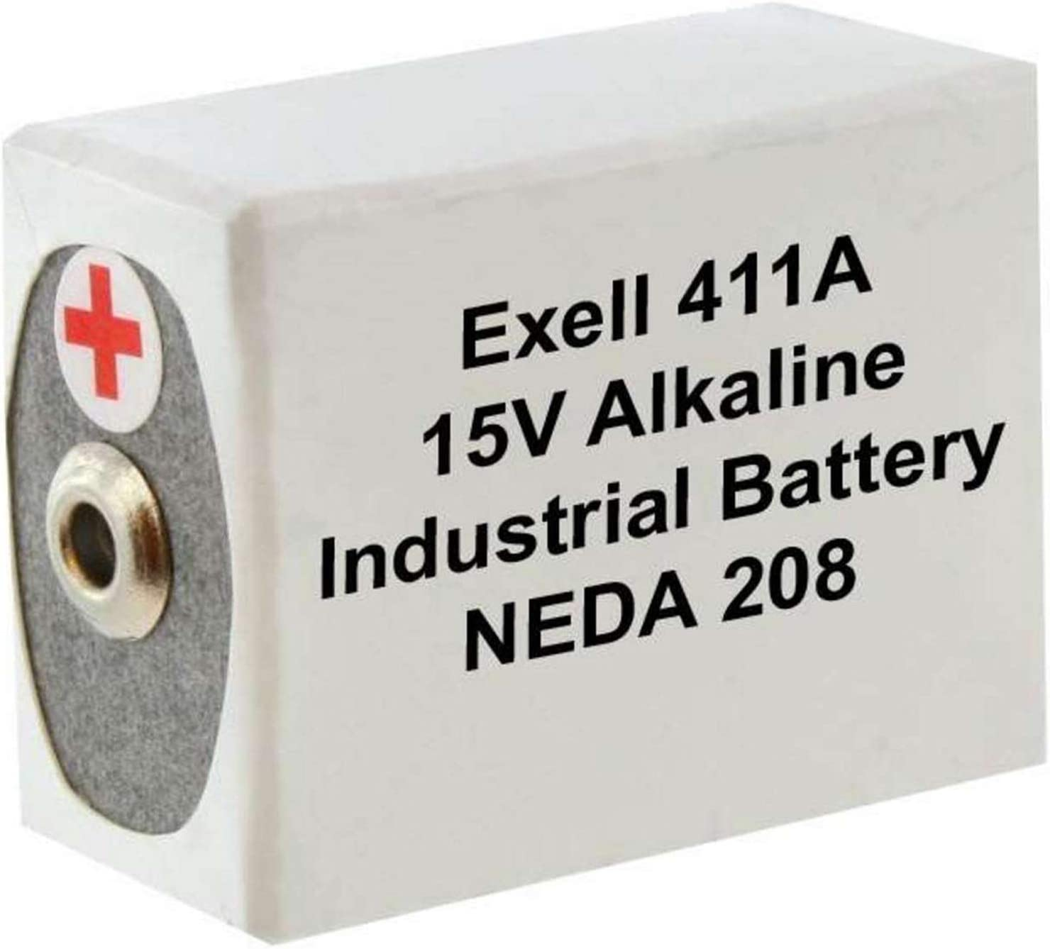 Exell Battery 411A Replacement Battery For Eveready 10F20 B121 BLR121