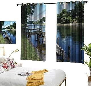 Davishouse Thermal Insulated Drapes for Kitchen/Bedroom Waikato River Hamilton Darkening and Thermal Insulating 63