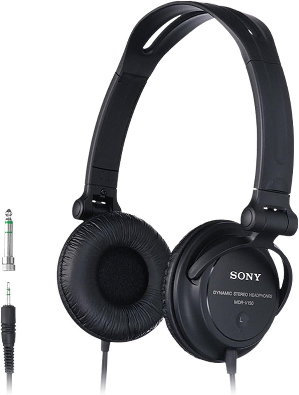 Sony Mdr V150b Kopfhörer Geschlossen Schwarz Elektronik