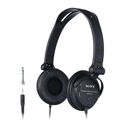 Sony MDRV150 - Auriculares de diadema abiertos, negro