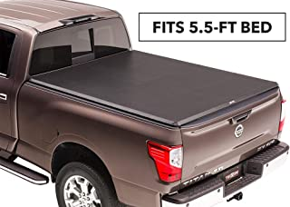 TruXedo TruXport Soft Roll Up Truck Bed Tonneau Cover | 297401 | fits 16-19 Nissan Titan w/Track System 5'6