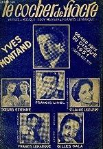 LE COCHER DU FIACRE partition pour le chant GRAND PRIX DU DISQUE 1951