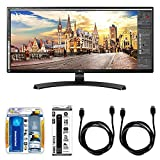 LG 34UM68 21:9 FHD IPS 34-inch Monitor Bundle with...