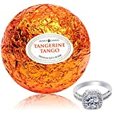 Bath Bomb with Ring Surprise Inside Tangerine Tango Extra Large 10 oz. Made in USA