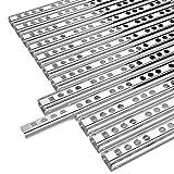 Yaheetech Lot de 6 paires de rails de tiroir coulissants 278/17 mm