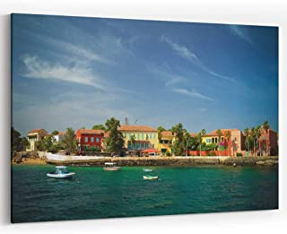 View to Historic City at The Goree Island Canvas Art Wall Dector,Senegal 36