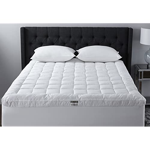 Live Comfortably Cuddlebed Down Alternative Mattress Topper, Queen