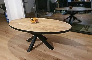 Table en chêne Ovale 200
