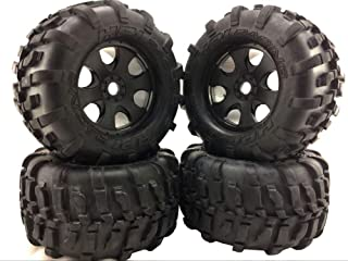 Part & Accessories 1/8 Truggy RC Car HPI-Racing GT2 Tires and Rim 155x86mm Savage 4.6 5.9 Price is 1Pcs