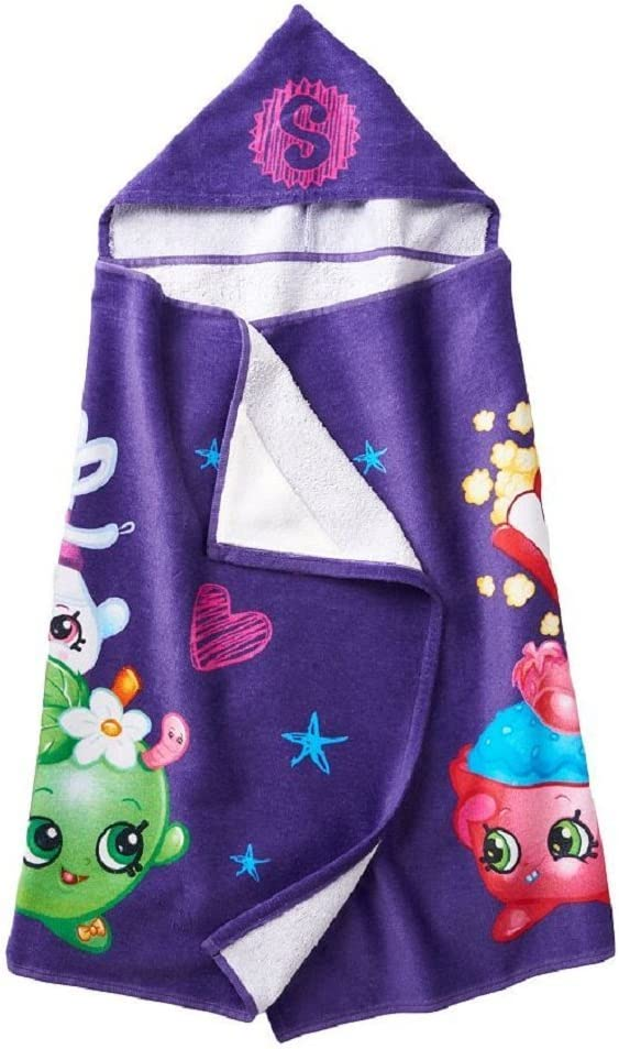Ranking TOP7 Shopkins Girls At the price Hooded Bath 50 25x Towel