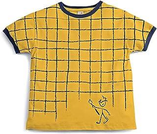 Camiseta Invente Amarelo - Infantil Menino