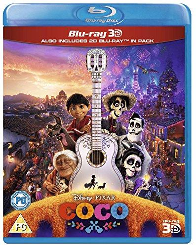 Coco [Blu-ray 3D + Blu-ray] [2017] [2018] [Region Free]